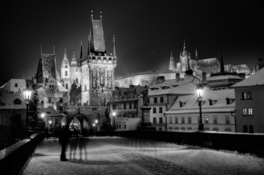 Vidím to černobíle - Prague winter fairytale